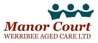 Manor Court Werribee Aged Care Logo