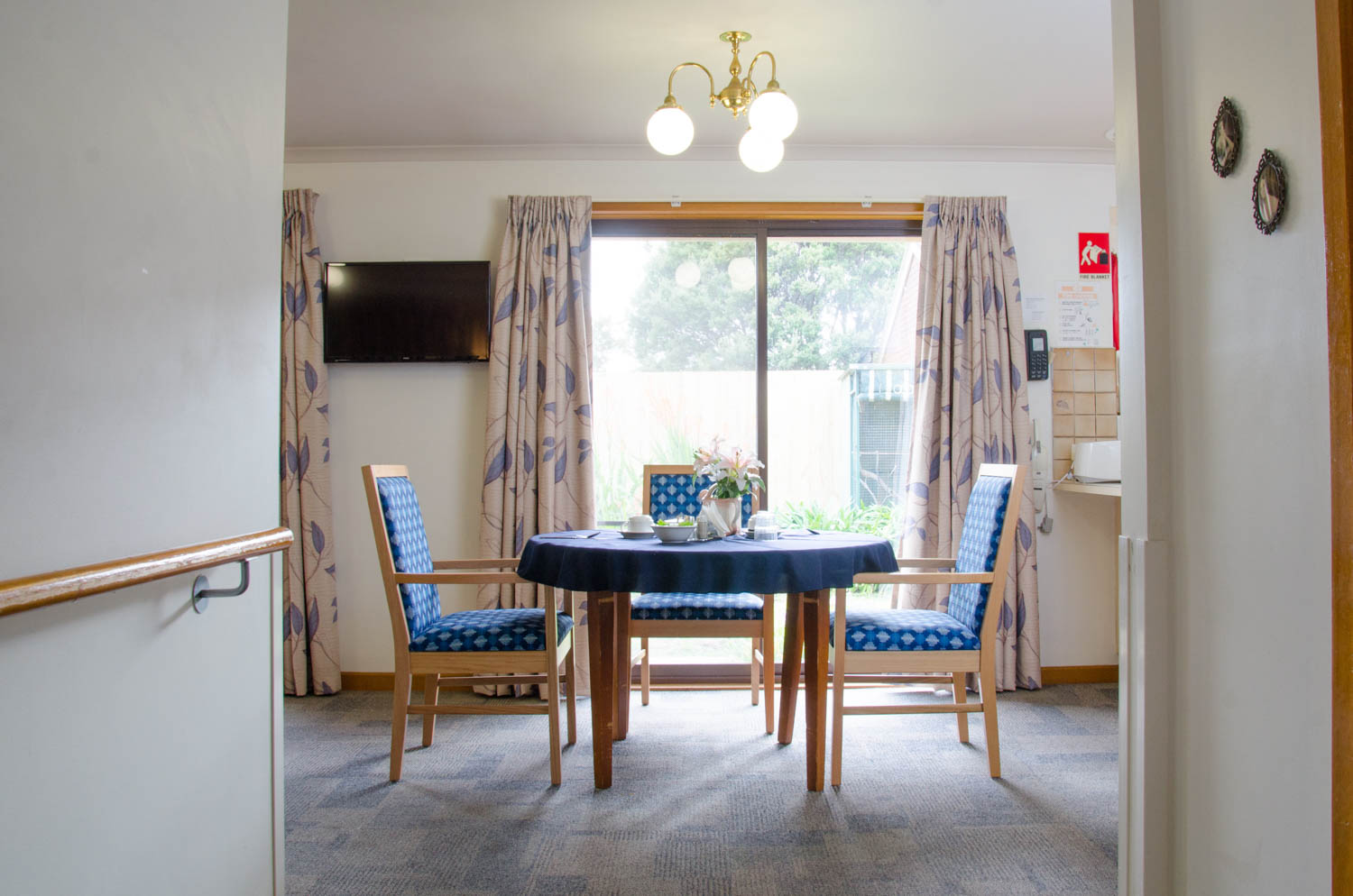 Manor Court Werribee Aged Care - Vacant Room Dining