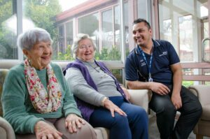 Manor Court Werribee Aged Care - Staff and residents